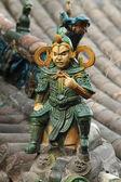 Chrám postavy Zhangbi Cun v Číně