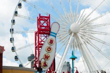 Ferris Wheel in Clifton Hill, Niagara Falls, Ontario