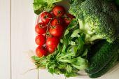 frisches Gemüse-set