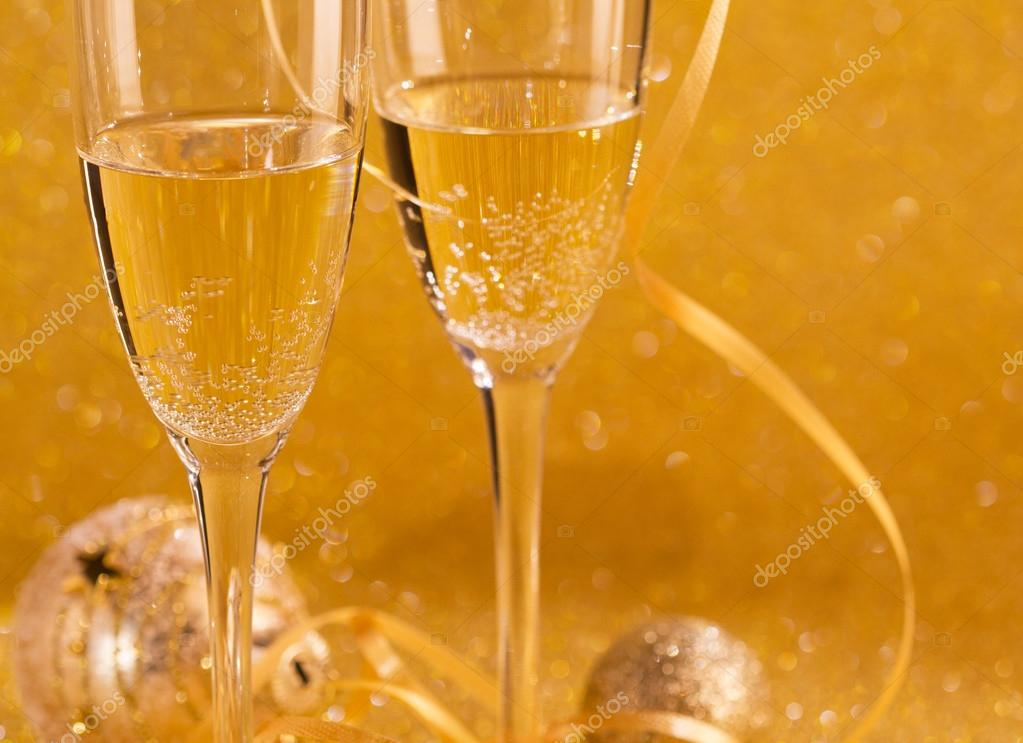 new year celebration or wedding concept theme stock photo
