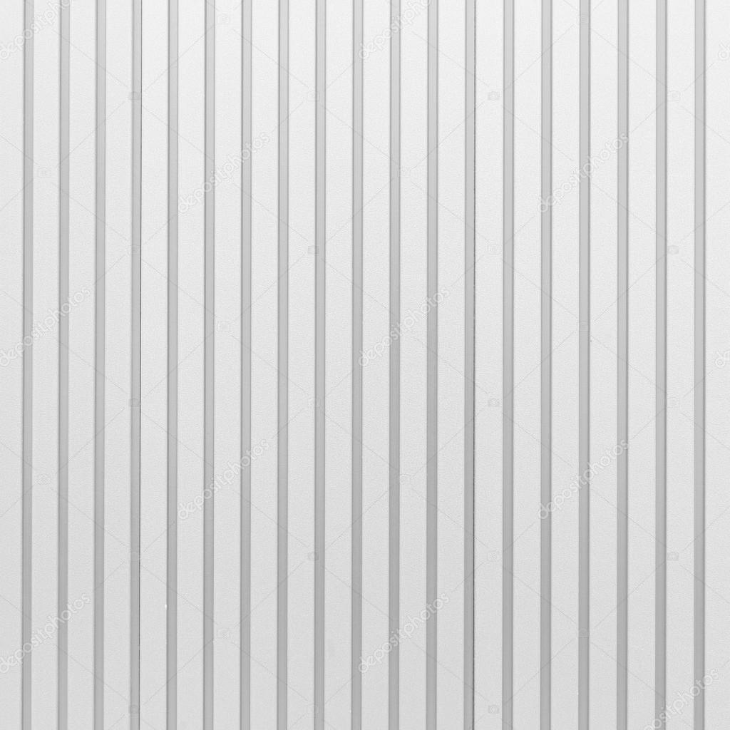 White Corrugated Metal Texture Surface Stock Photo