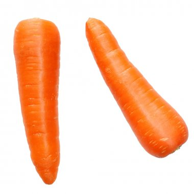 Fresh and sweet carrots