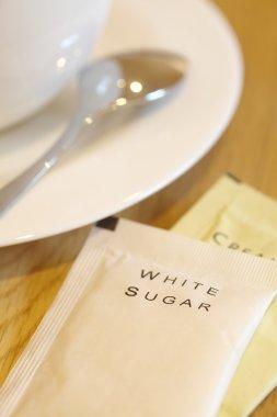 White sugar paper packs
