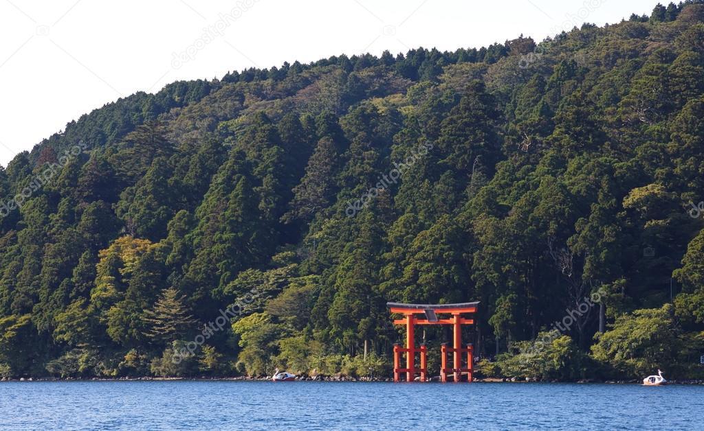 torii on Miyajima island