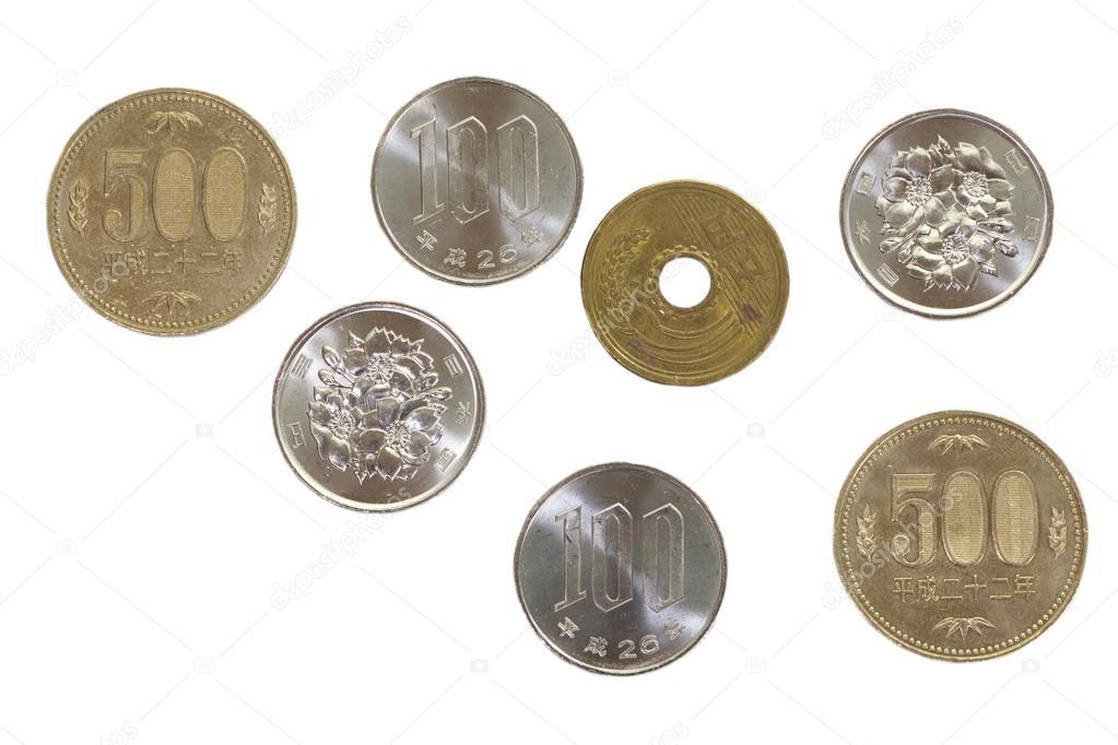 japanese yen coins stock photo torsakarin 59535061