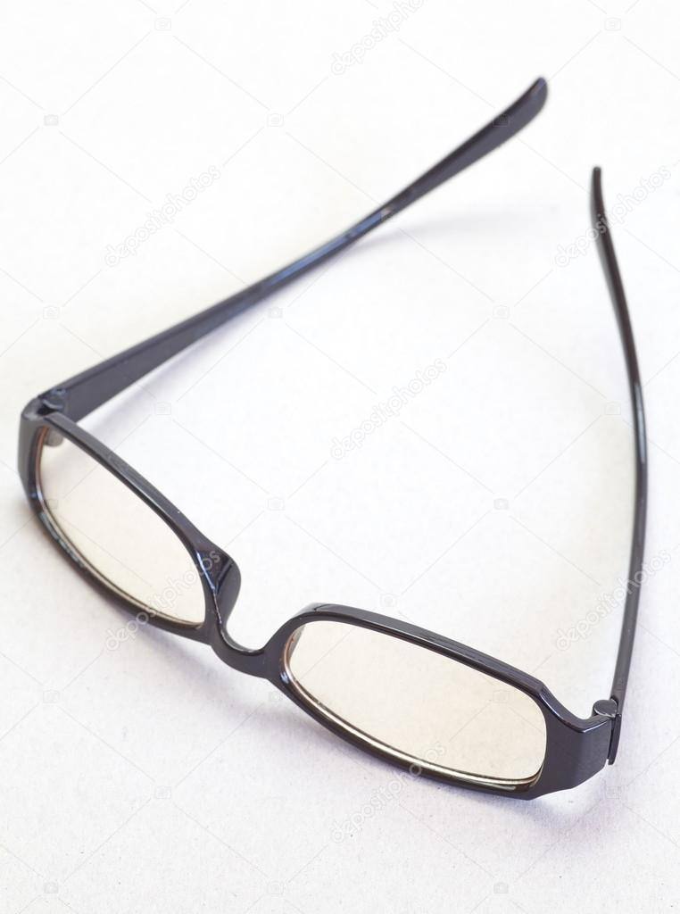Montura de gafas negra — Fotos de Stock © Torsakarin #59648213