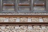 Fotografie Details of railway lines