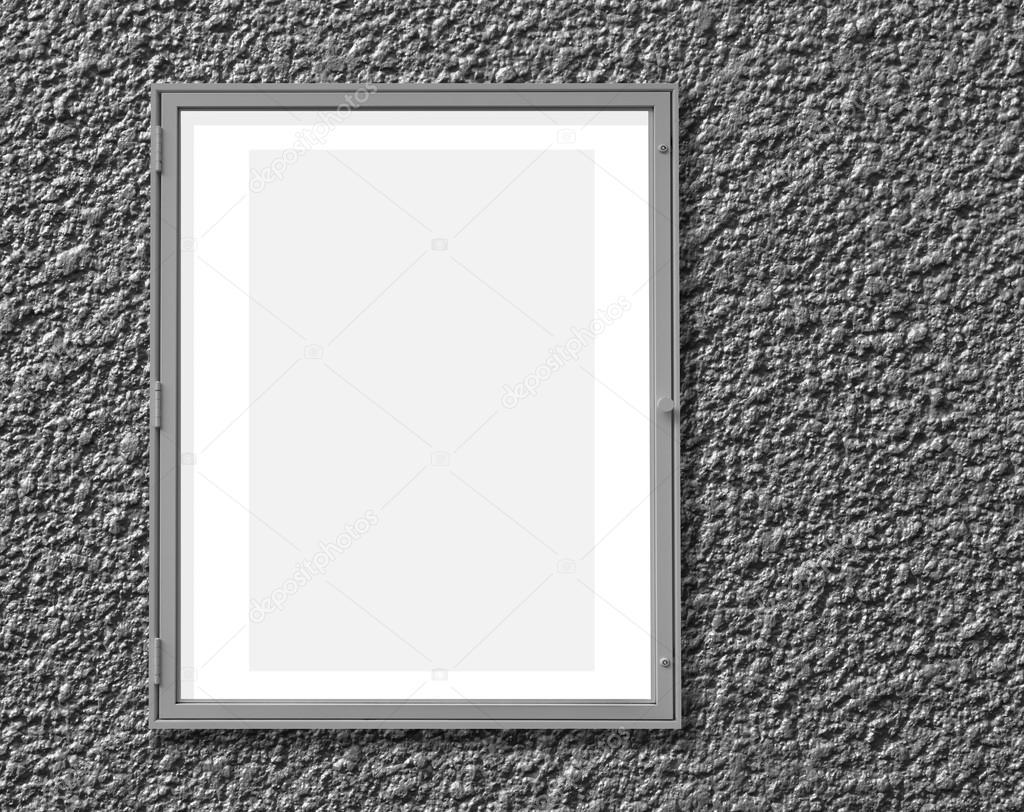 Marco de pantalla de ventana metálica — Fotos de Stock © Torsakarin ...