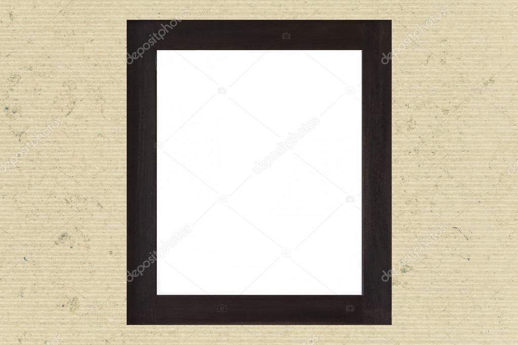 Marco madera negro vacío — Foto de stock © Torsakarin #99152710