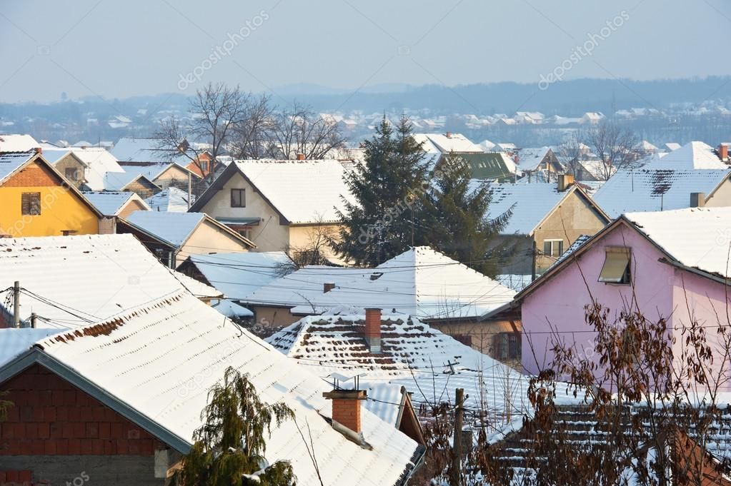Snow roofs