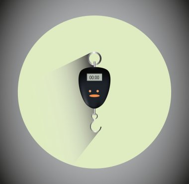 Remote Key Ring Icon for the shop and Business