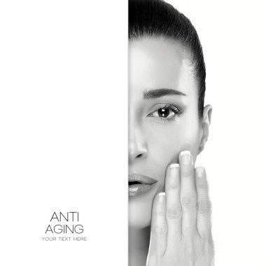 Anti Aging and skincare concept