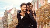 Fotografie Herbst Porträt eines jungen Paares