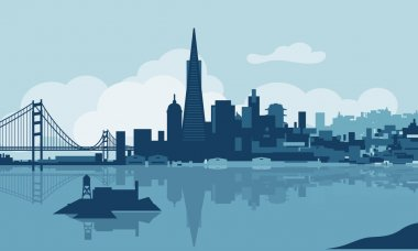 Vector Seattle skyline stock vector