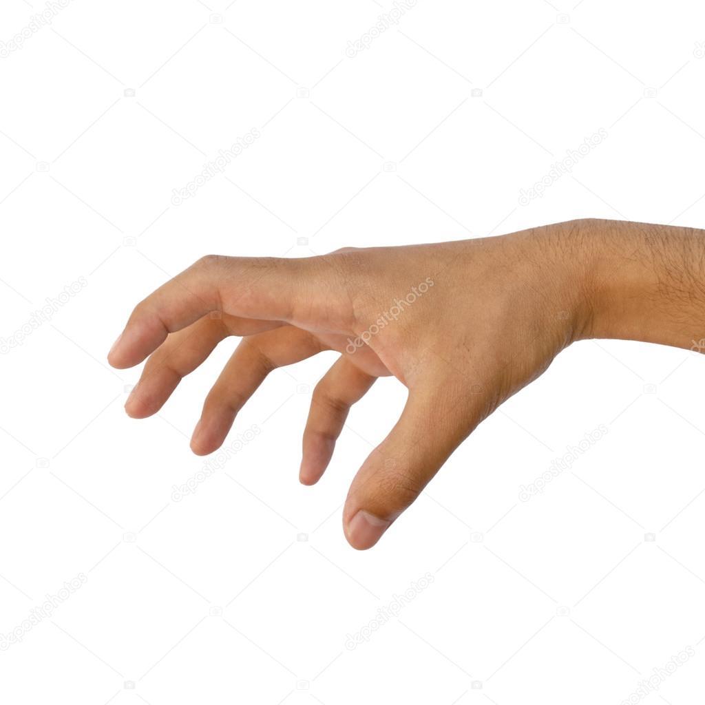 male hand grabbing pose stock photo mrhighsky 64304329