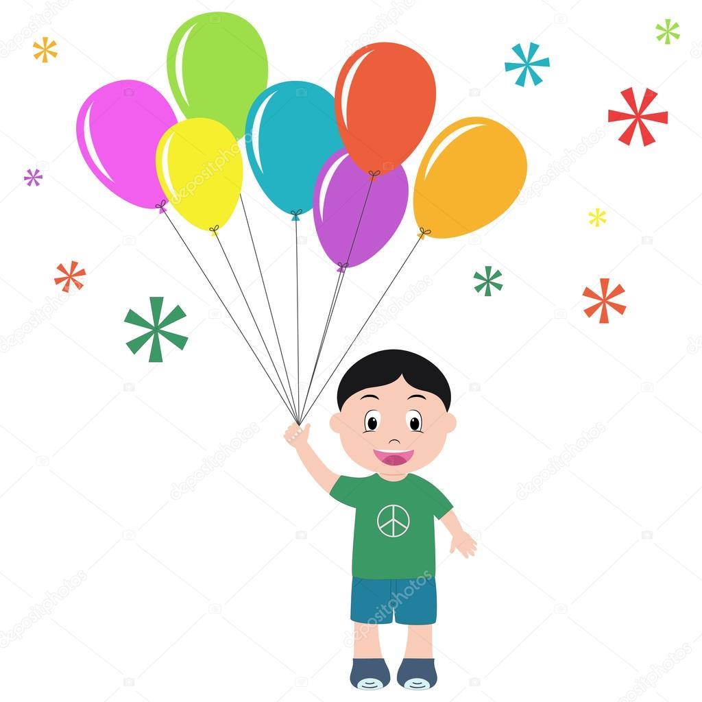 çocuk Balon Stok Vektör Mrhighsky 67571161