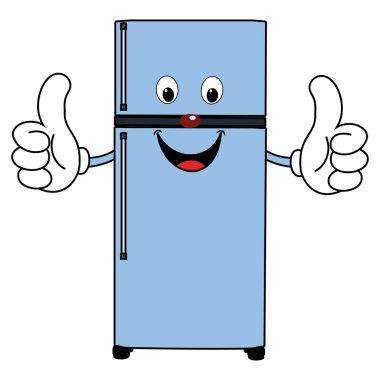 Happy Cartoon Fridge