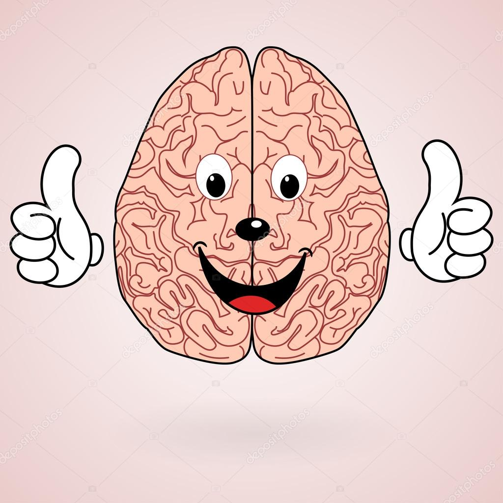 Image result for brain health cartoon hd