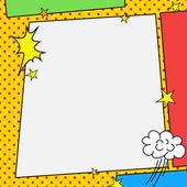 Photo Comic book style frame