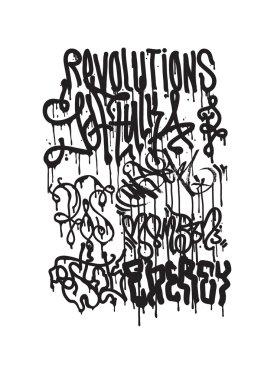 fashion graffiti illustration