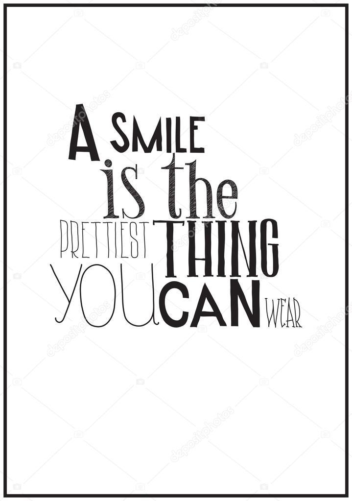 Poster Preto E Branco Simples Com Uma Frase Motivacional Vetores