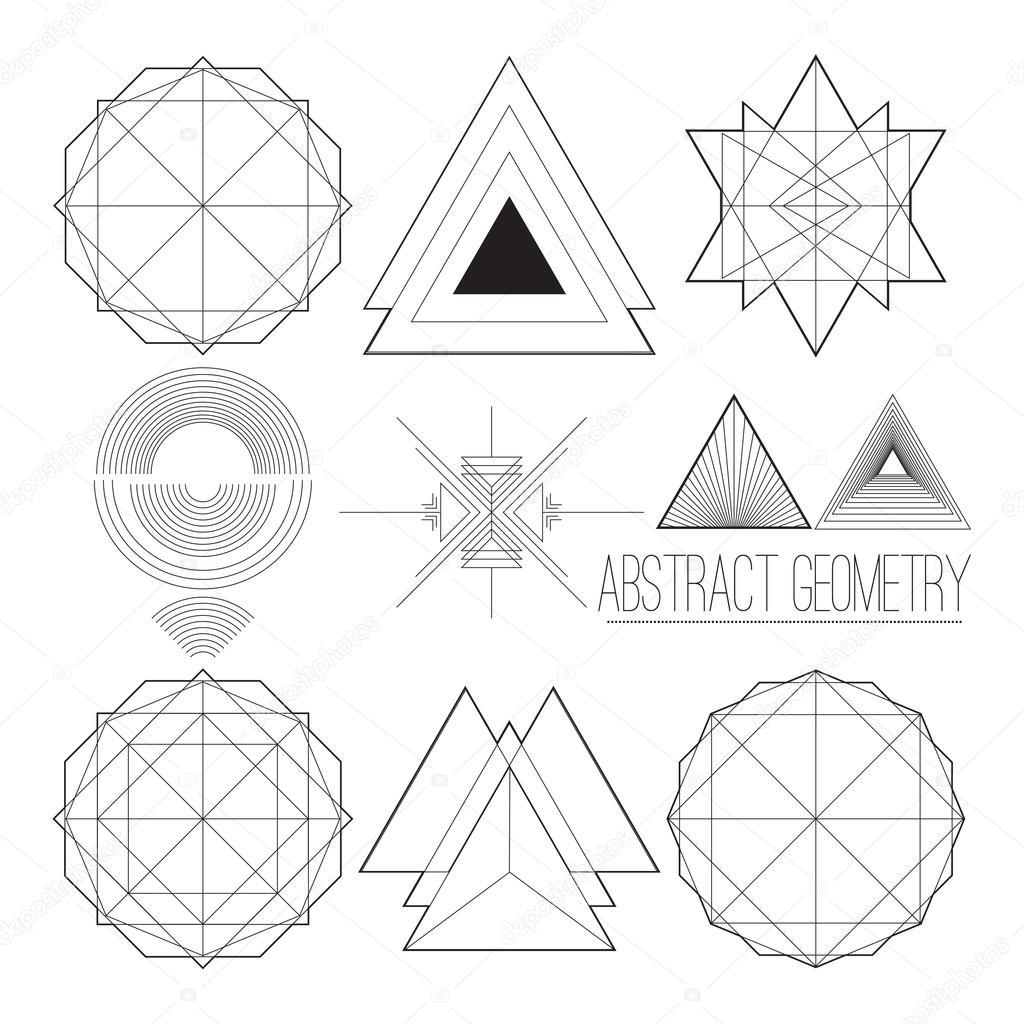 Simple Geometric Line Art : Simple geometric line art pixshark images