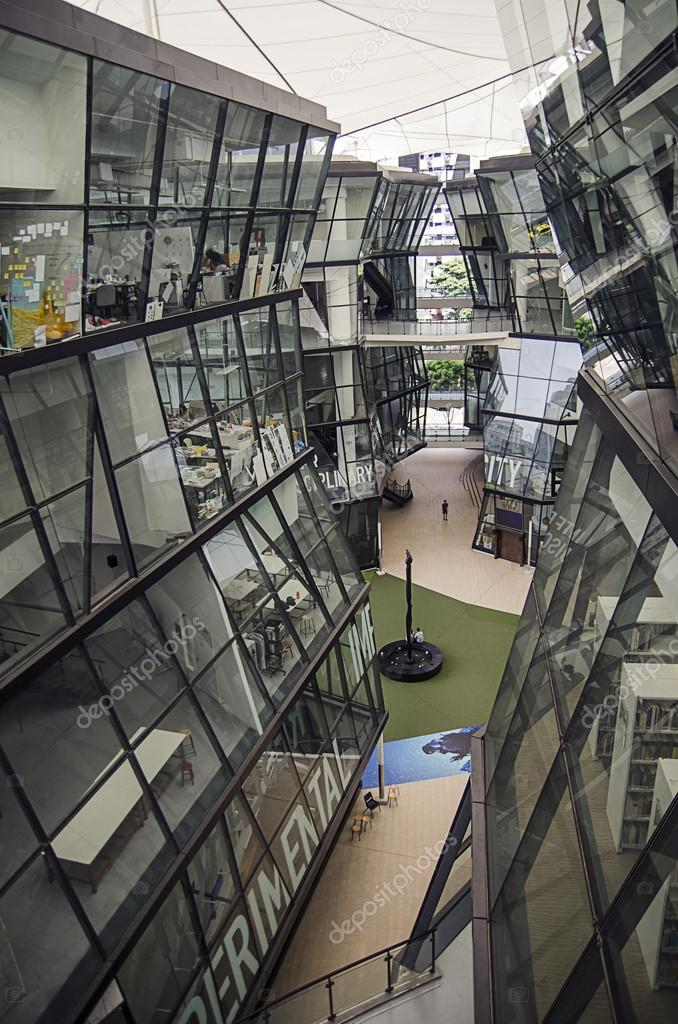 Interior Of Lasalle College Of The Arts Singapore Winstedt Roa Stock Editorial Photo C Vanzyst 93522712