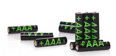 Heap of AAA batteries