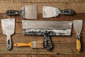 Fotografia Kit di stucco coltelli