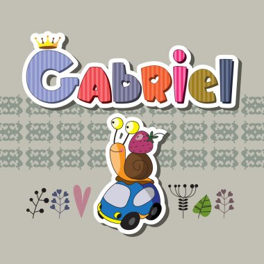 The original spelling of the name Gabriel.