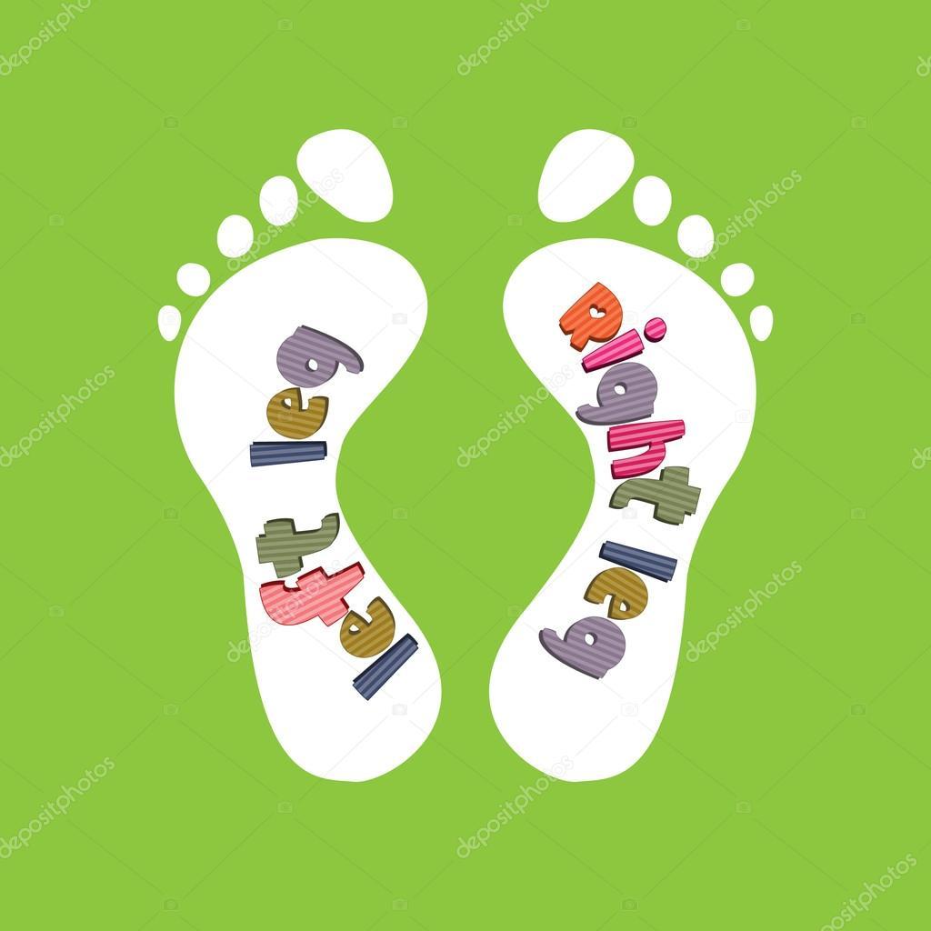 El diseño de plantillas de niños para los zapatos — Vector de stock ...