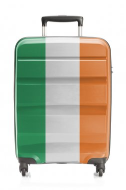 Suitcase with national flag series - Ireland