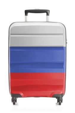 Suitcase with national flag series - Russia