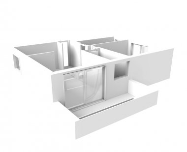 House plan  - interior design
