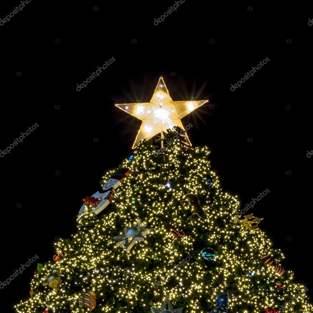Kerstboom Verlichting Stockfoto C Ammza12 54943415