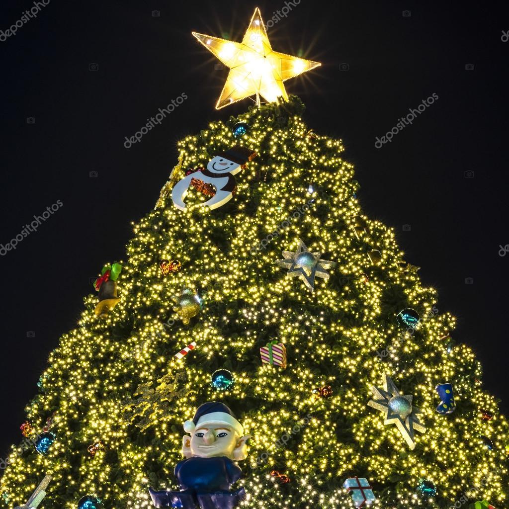 kerstboom verlichting — Stockfoto © ammza12 #54943423