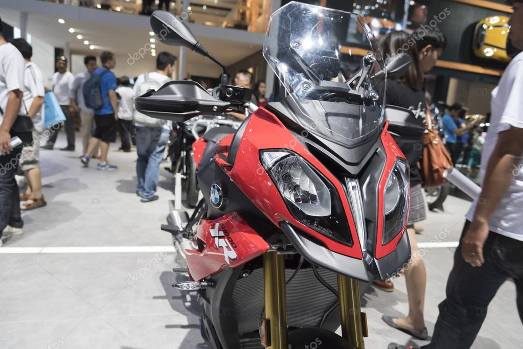 BANGKOK,THAILAND - APRIL 4 : BMW big bike  show on April 4,2015