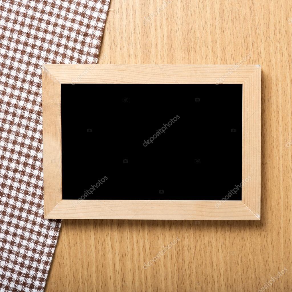 Tafel und Küche Handtuch — Stockfoto © ammza12 #80003742