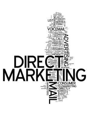 Word Cloud Direct Marketing