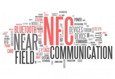Word Cloud Near Field Communication