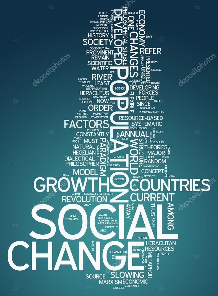 Word Cloud Social Change