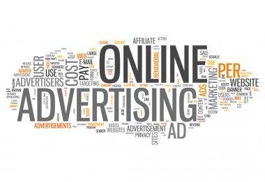 Word Cloud Online Advertising