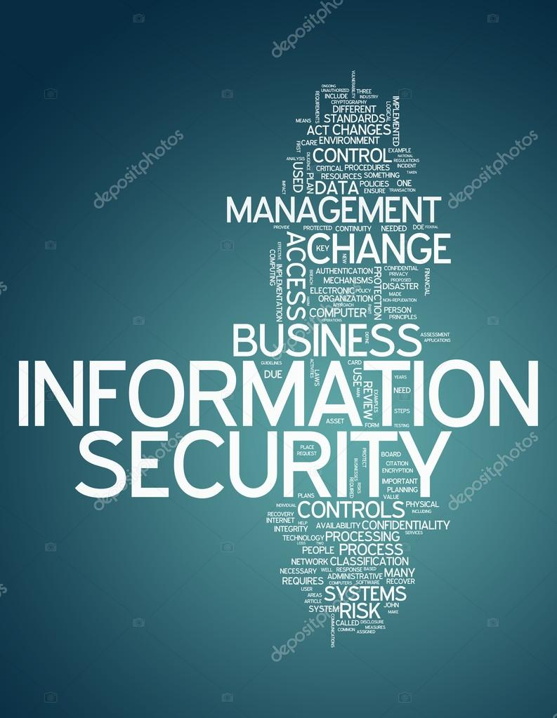 Word Cloud Information Security