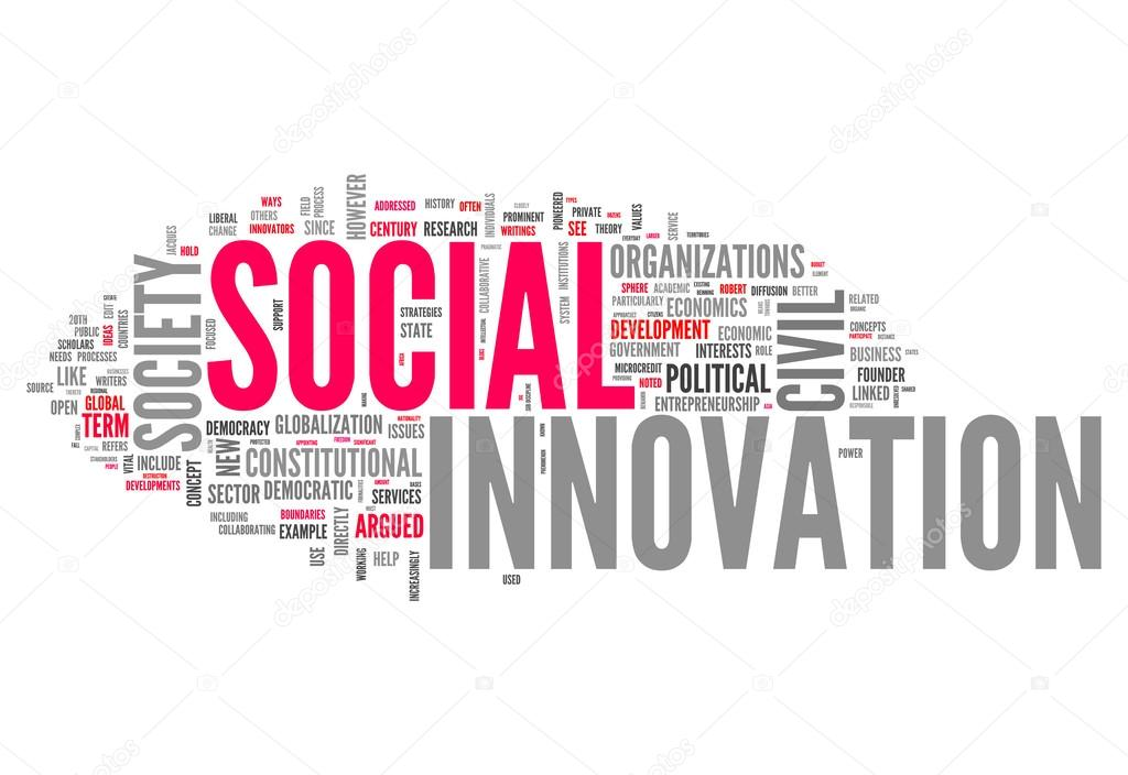 Word Cloud Social Innovation