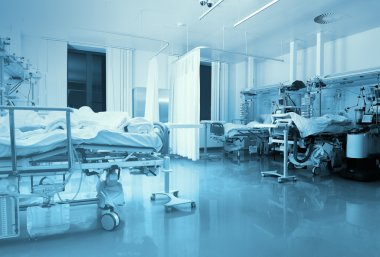 ICU ward with patients