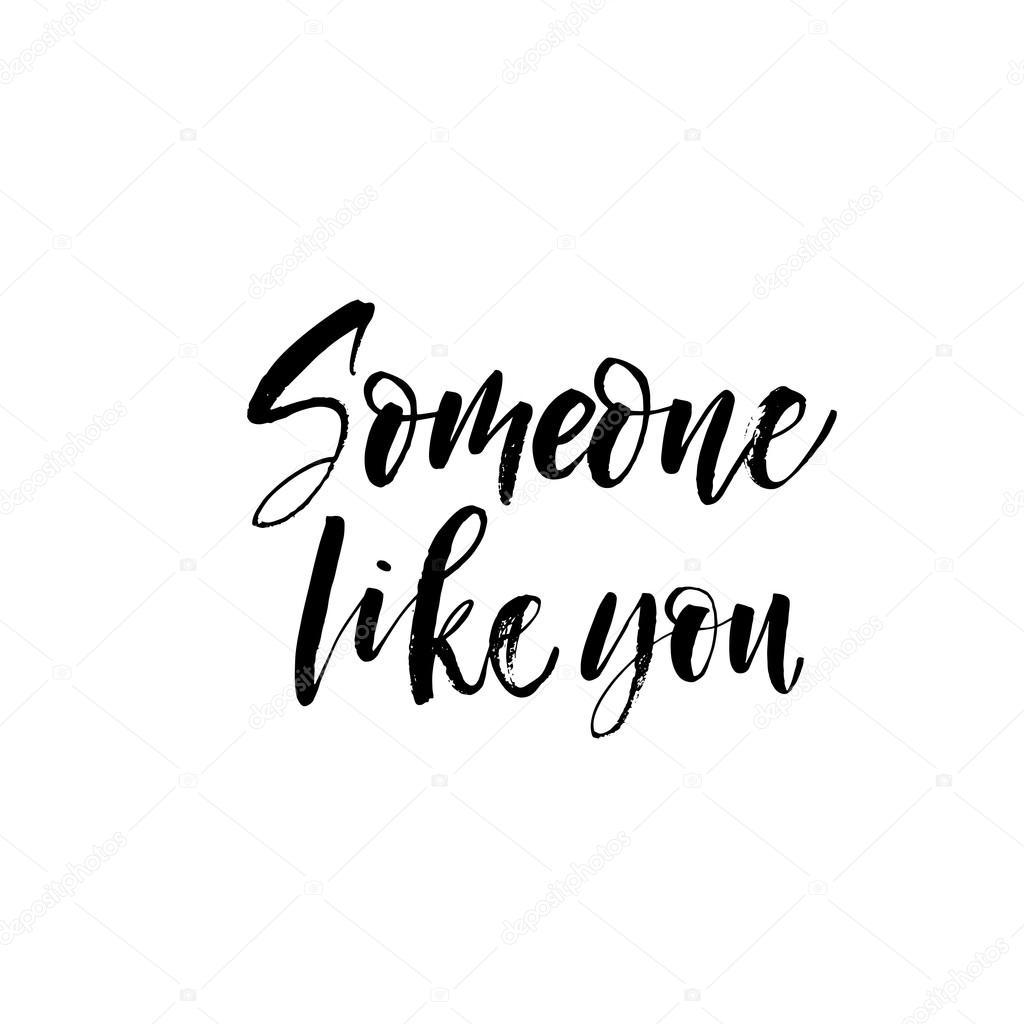 someone like you card stock vector gevko93 112299948