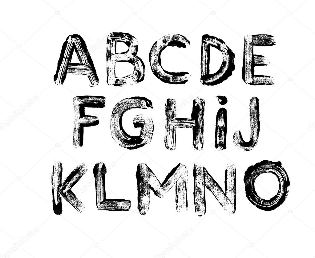 Letras del alfabeto: mayúsculas. Parte 1. Impresiones de letras ...
