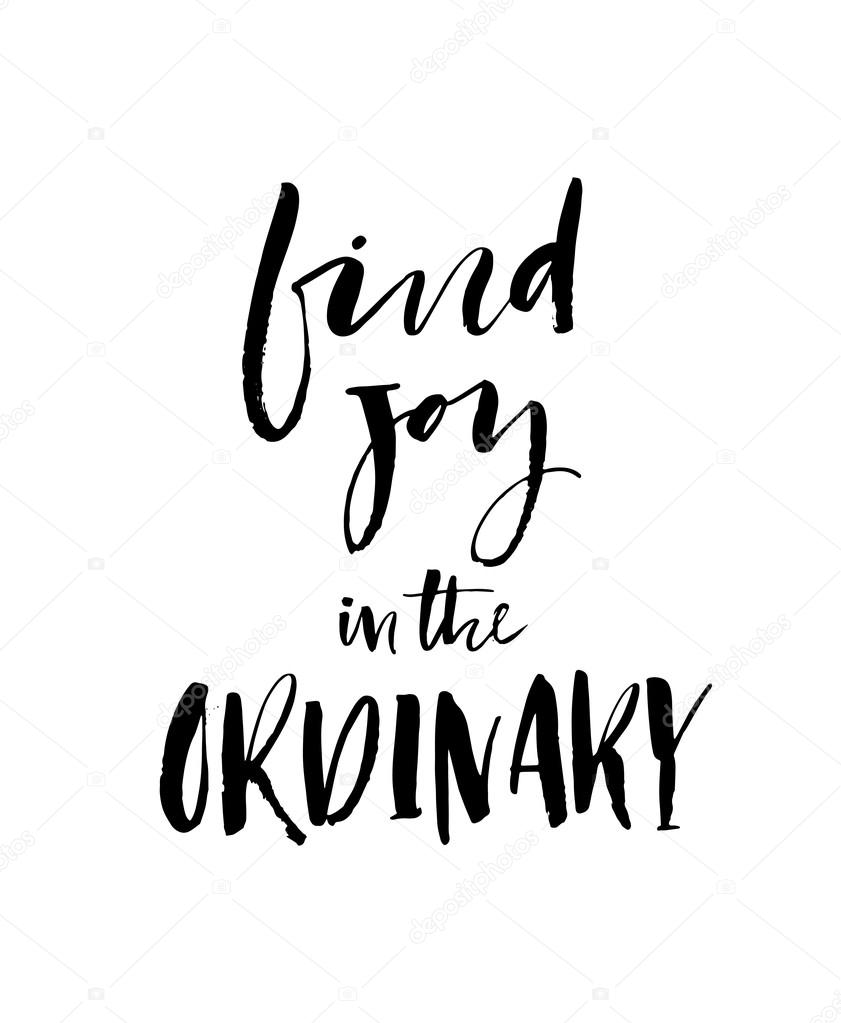 Get Find Joy In The Ordinary SVG