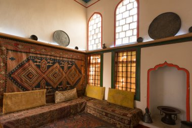 Interiors of the harem in Khan's Palace