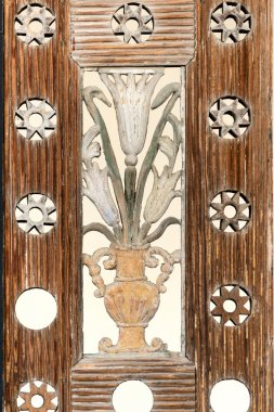 Exquisite wooden panel